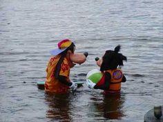 Max and Goofy Photos at Disneyland and Disneyworld