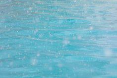 Snowflakes on Water
