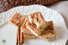 Snickerdoodle Cookie Protein Bars