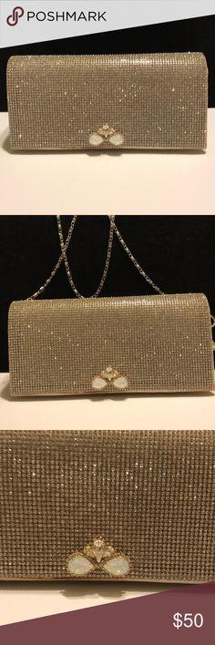 I just added this listing on Poshmark: Gold Glitter Purse💍👗🎲. #shopmycloset #poshmark #fashion #shopping #style #forsale #Handbags