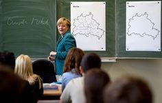 Merkel entra en campaña con lecciones de historia #Relato #jóvenes #Alemania2013
