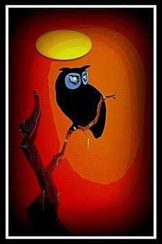 Death-Owl by lousephyr on DeviantArt
