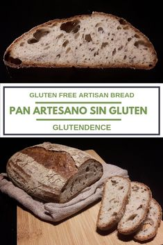 Gluten Free Artisan Bread, Pan Bread, Sourdough Bread, Blondies, Pain, Healthy Cooking, Gluten Free Recipes, Banana Bread, Desserts
