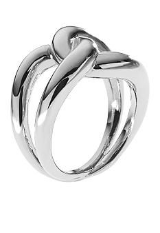 Michael Kors Jewelry Silver Knot Ring - Belk.com