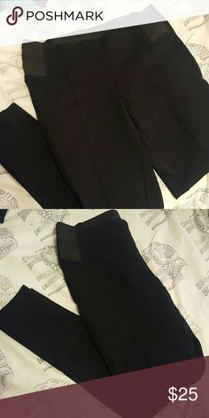 Skinny dress pants Never worn but has no tags. They didn't fit and I had already took the tags off  Slimming material Comfortable legging feel Pants Skinny