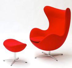 Ägget som designades 1958 av Arne Jacobsen, ursprungligen för lobbyn på SAS Royal Hotel i Köpenhamn, har länge varit en ikon och högstatuspryl i design– och möbelsamlarvärlden.