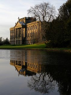 Lyme Hall used as the exterior for Pemberley, Mr. Darcy's estate in Pride and Prejudice