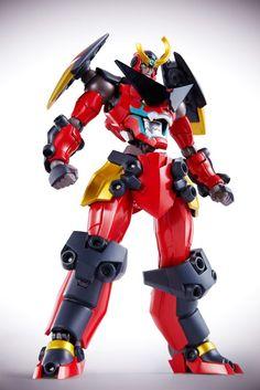 Gurren Lagann: Gurren Lagann Super Robot Chogokin Action Figure - AnimePoko.com