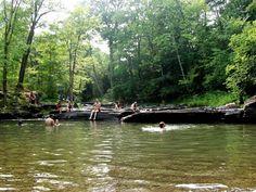 Swimming Hole, Woodstock, NY