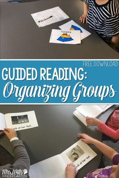 Organizing Guided Reading Groups in Kindergarten. This post will show you how I organize small group activities and binders. Includes assessments, running records, management, and ideas. Track your students success with lesson plans that are differentiate