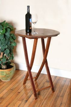 32 Folding Wine Barrel Bistro Table Made From Solid Oak Wine barrel Staves Wine Barrel Coffee Table, Wine Tasting Near Me, Wine Barrel Furniture, Outdoor Furniture, Barrel Projects, Red Wine Glasses, Bourbon Barrel, Champagne Bar, Wine Storage