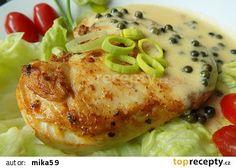 Kuřecí steak na zeleném pepři recept - TopRecepty.cz