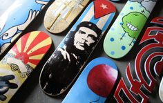 Designers Get Decked Out: Skateboard Art