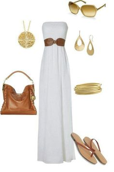 Very cute for a dinner dress outside on the beach
