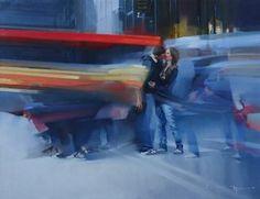 "Saatchi Art Artist Alexey Chernigin; Painting, ""He and she (Original sold)"" #art"