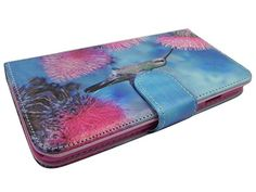 """Humming Bird Iphone 6s Case Wallet Case Premium Soft Pu Leather Wallet Cover - Verizon, At&t, Sprint, T-mobile - For Apple Iphone 6 and Iphone 6s 4.7"""" Devices. Protect your phone with style through this Attractive Protector Case and make it tamper resistance. Delivers ultimate protection from scratches and molds perfectly to device's shape to highlight its beauty. Reinforced with pu leather to the sides to ensure the durability of the case and to prolong the life of cellualar device…"""