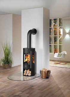 Bauhaus, Stove Installation, Diy Fireplace, Design Moderne, Sweet Home, Home Appliances, Wood, Studio