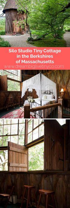 Silo Studio Tiny Cottage in the Berkshires of Massachusetts