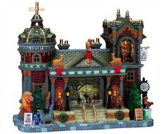 Make 2018 a year to remember with the latest Lemax holiday village collectables. Start a family Christmas tradition with Lemax Village Collection today! Lemax Christmas Village, Lemax Village, Halloween Village, Christmas Town, Christmas Villages, Christmas Ideas, Christmas Stuff, Christmas Carol, Holiday Ideas