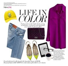 """Life in color"" by punnky ❤ liked on Polyvore featuring Valentino, Salsa, SHOUROUK, women's clothing, women's fashion, women, female, woman, misses and juniors"