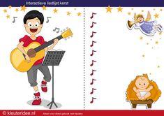 Interactieve liedlijst kerst, met heel veel kerstliedjes voor kleuters by juf Petra