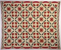 Free Quilt Pattern: Amish Tulips Quilt from EZ Quilting at