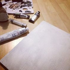 Makeshift studio #oils #missingfalmouthuni