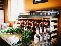 Custom bar 🍾🍸 Photo by Showcase Design, Ottawa, Event Decor, Montreal, Liquor Cabinet, Toronto, Wedding Planner, Shots, Bar