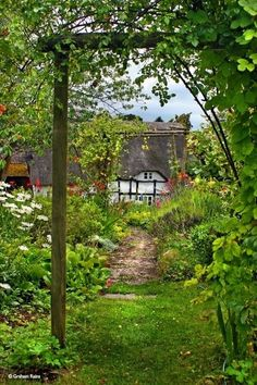 Lovely . . . An Englishman's cottage is his castle