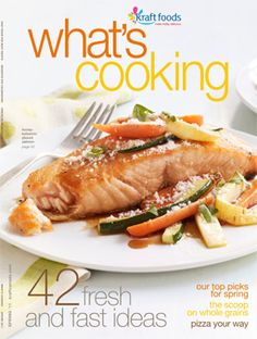 """Kraft Canada - archive of all digital editions of """"What's Cooking"""" magazines dating back to 2000"""