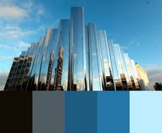 Swatches from local building the Len Lye Centre, New Plymouth NZ