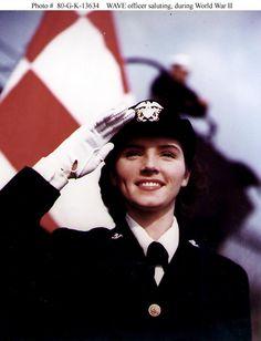 USA Navy Woman - II War world
