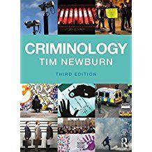 Criminology/ Newburn/ HV6025 New