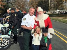 Sheriff Carmichael and MCSO at the North Mecklenburg Christmas Parade.