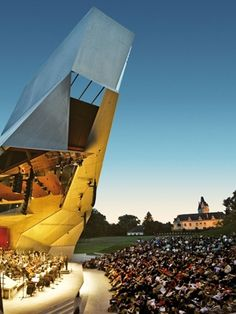 Enjoy classical music in Grafenegg where modern architecture meets romantic castle. #feelaustria
