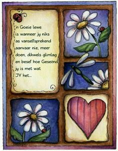 Goeie lewe Love Collage, Afrikaanse Quotes, Inspirational Qoutes, Motivational Quotes, Goeie More, Dragonfly Art, Prayer Verses, Work Motivation, Good Morning Greetings