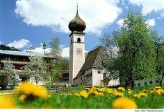 Aurach bei Kitzbühel, Kirche Hl. Rupert Tirol AUT