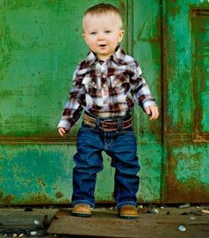 I'm sorry but to me a little cowboy is so stinkin darling!