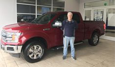 Arthur's new 2018 FORD F-150! Congratulations and best wishes from Landmark Ford and Paul Walsh.