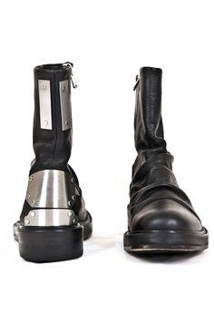 Botas Para Hombre Diseñador Jhon Fluevog Tipo Militar