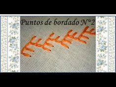 09 ♥ Puntos de bordado ♥ N°2 ♥ - YouTube