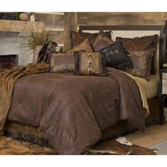 Spring Creek Rustic Outfitters - Gold Rush Western Bedding Comforter Set, $229.95 (http://stores.springcreekrusticoutfitters.com/gold-rush-western-bedding-comforter-set/)