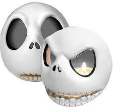 Amazon.com: Nightmare Before Christmas Jack Skellington Votive Holder Set: Home & Kitchen