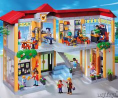 Ecole Playmobil - Ma fille adore.