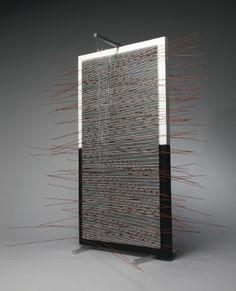 Jesús Rafael Soto - Double Vibration In Red - 1967