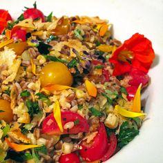 Perfectly Seasonal: Toasted Farro Summer Salad