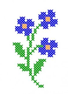 programe de broderie, motive f Cross Stitch Bookmarks, Mini Cross Stitch, Cross Stitch Cards, Simple Cross Stitch, Cross Stitch Flowers, Cross Stitch Kits, Cross Stitch Designs, Cross Stitching, Cross Stitch Embroidery