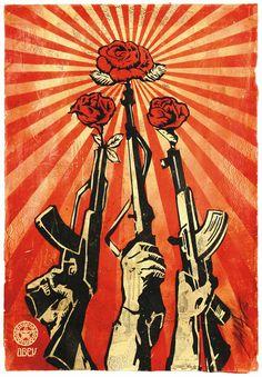 rose and guns