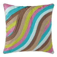 I pinned this Waves Pillow in Lilac from the Company C event at Joss & Main!