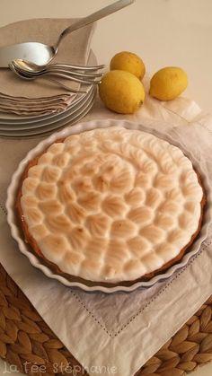 La Fée Stéphanie: Tarte au citron vegan....un dessert digne d'un gra...